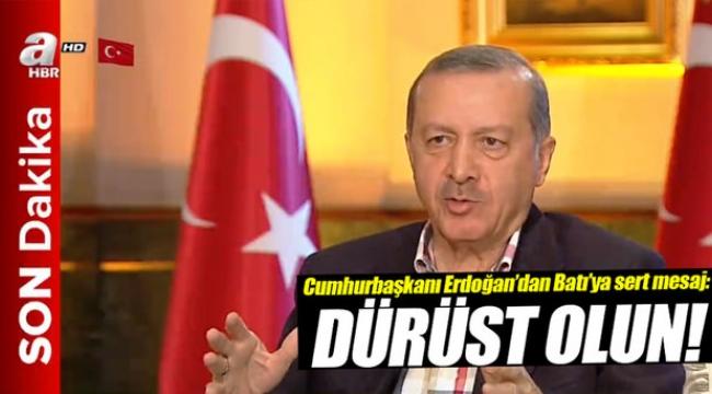 Erdoğan: Bunu düşman bile yapmaz