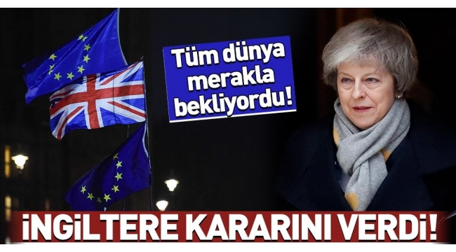Son dakika... Brexit oylaması: İngiltere Parlamentosu Brexit oylamasını reddetti