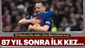 El Clasico'da zafer yine Barcelona'nın!..