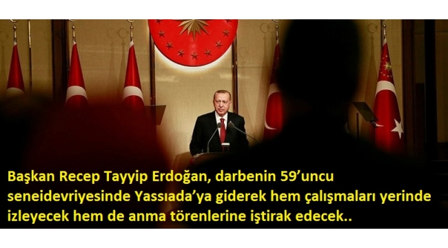 Başkan Erdoğan'dan Yassıada kararı.