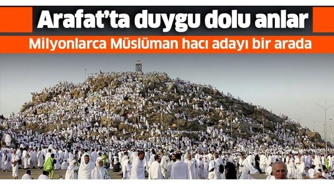 Arafat'taVakfe Duası