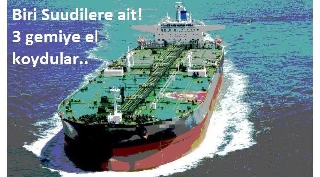 Husiler, biri Suudi Arabistan'a ait 3 gemiye el koydu