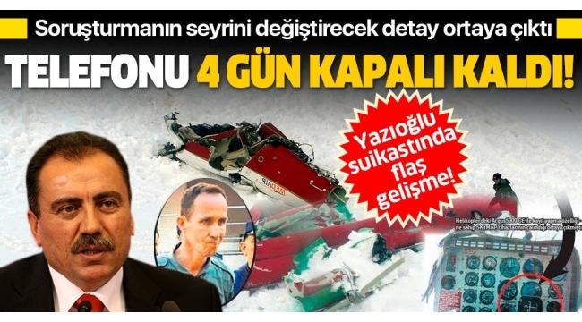 SON DAKİKA:Muhsin Yazıcıoğlu'nun ölümünde soruşturmanın seyrini değiştirecek detay: Suikastçı astsubayın 4 günlük sırrı.