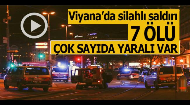 Son dakika: Viyana'da 6 farklı noktaya terör saldırısı..