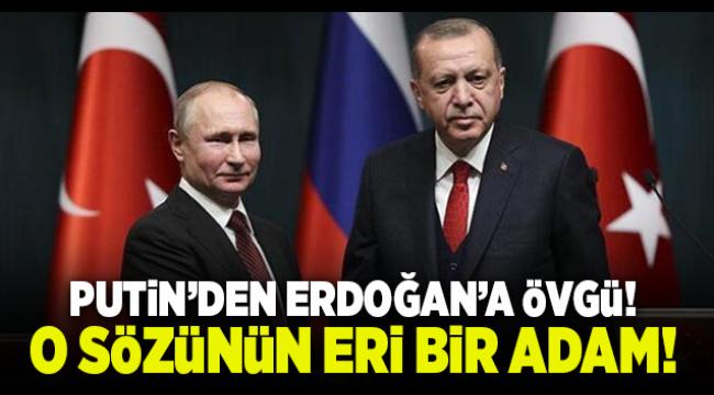 Putin'den Erdoğan'a flaş sözler: