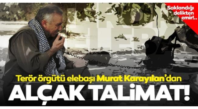 SON DAKİKA: Gara'da yakalanan teröristler itiraf etti! PKK elebaşı Murat Karayılan'dan alçak talimat