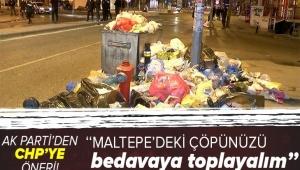 AK Parti İstanbul İl BaşkanıOsman Nuri Kabaktepe'den sokakları çöplüğe çeviren CHP'ye belediyecilik dersi!