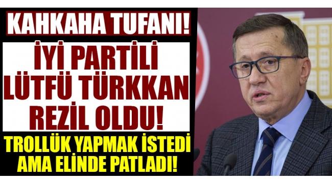 İYİ Partili Lütfü Türkkan patladı! AK Parti'yi eleştirdiği fotoğraf CHP'lilere ait çıkınca rezil rüsva oldu...