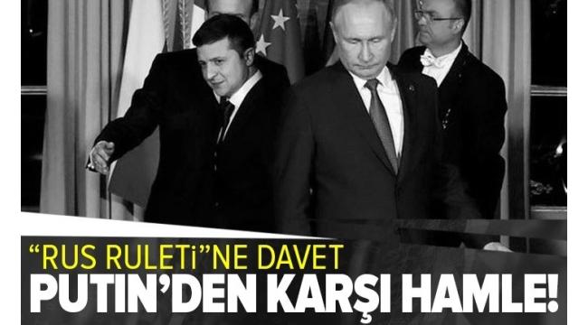 Putin'den Zelenskiy'in 'Donbas'ta görüşme teklifi'ne yanıt: Moskova'da görüşebiliriz