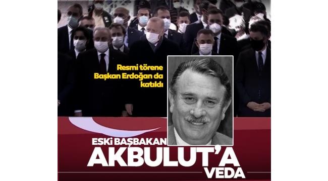 Son dakika: Yıldırım Akbulut'a veda! Cenaze törenine Başkan Erdoğan da katıldı