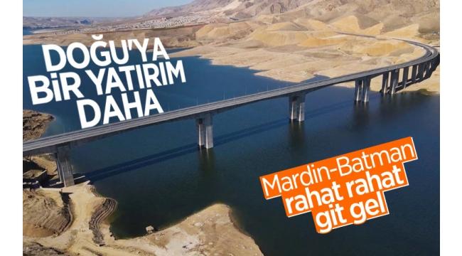 Türkiye'nin En Uzun Köprülerinden Hasankeyf-2 Köprüsü Hizmete Açıldı