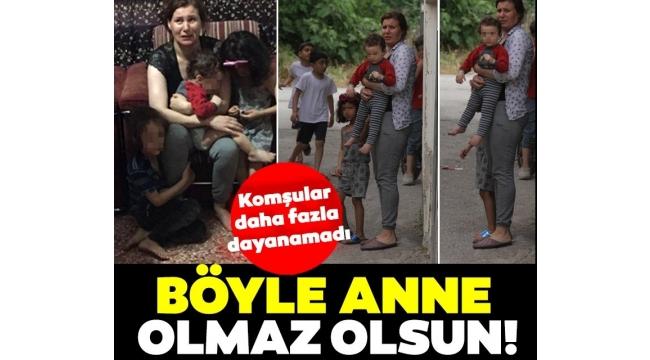 Adana'da anne dayağı! Komşular seslere dayanamadı!