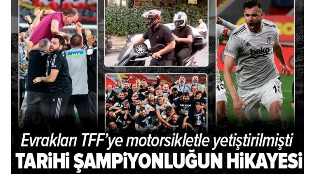 Beşiktaş şampiyon oldu, Sergen Yalçın gözyaşlarını tutamadı