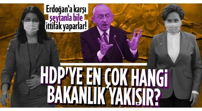 İşte 'Millet İttifakı' gerçeği!CHPitiraf etti: HDP'ye bakanlık veririz