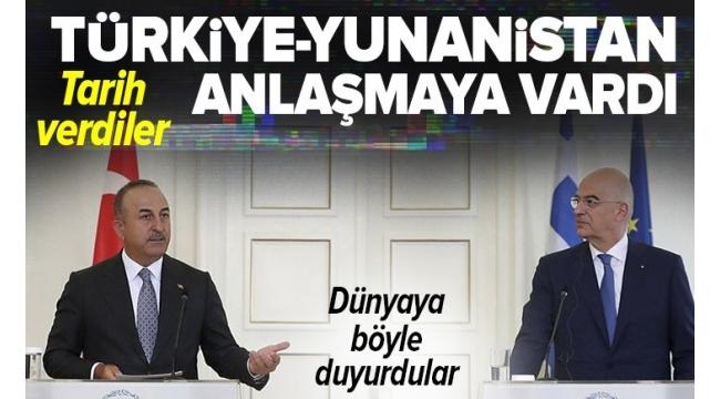 Son dakika: Dışişleri Bakanı Mevlüt Çavuşoğlu ve Yunan mevkidaşı Nikos Dendias'tan önemli açıklamalar: Aşı sertifikasında anlaştık