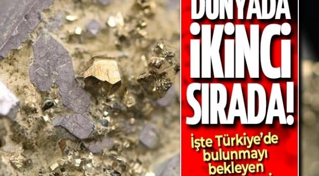 Son dakika: Dünyada ikinci sırada! 4 bin 700 ton altın Türkiye'yi bekliyor