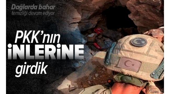 Son dakika | Pençe-Yıldırım'da PKK'ya şok! İnlerine girilen hainler kabusu yaşıyor