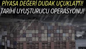 Ticaret Bakanı Mehmet Muş son dakika olarak duyurdu! Bugüne dek gerçekleştirilen en yüksek miktarda uyuşturucu operasyonu!.