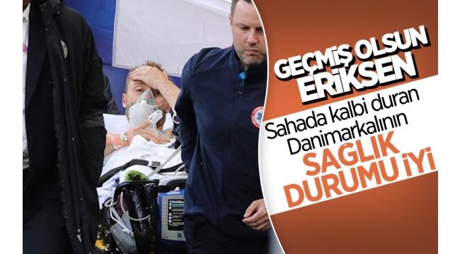Son dakika: Danimarka-Finlandiya maçında korkutan anlar! Yerde kalan Christian Eriksen'e kalp masajı...