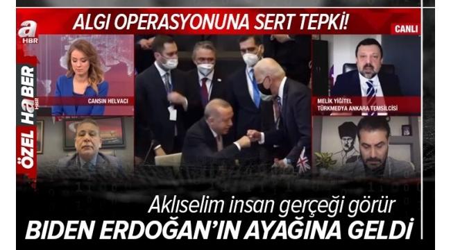 Başkan Erdoğan-Biden görüşmesi üzerinden kirli algı operasyonu! 95 IQ altındakilerin bir ürünü!
