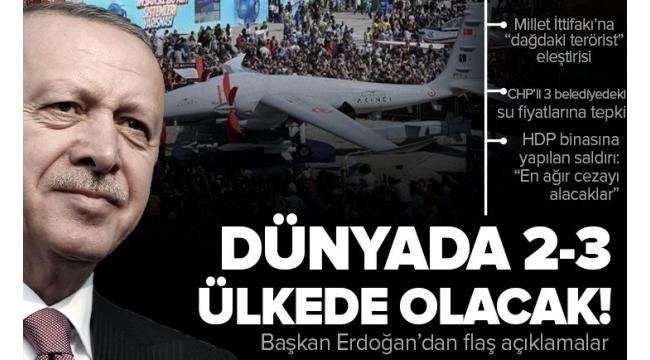 Son dakika: BaşkanRecep Tayyip Erdoğan'danAntalya'da önemli açıklamalar