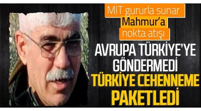 Son dakika: MİT'ten PKK'ya ağır darbe! Kırmızı bültenle aranan sözde Mahmur sorumlusu Hasan Adır etkisiz hale getirildi