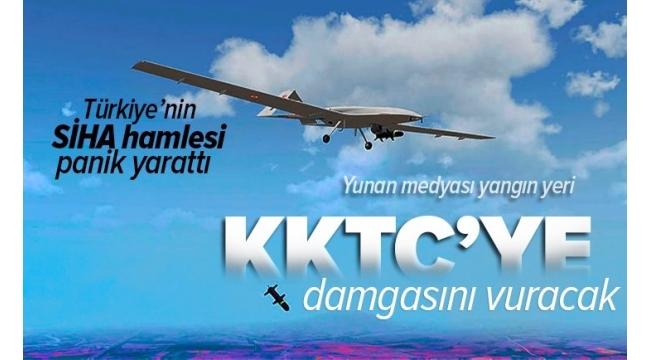Yunan medyasında Türkiye korkusu! Yeni SİHA üssü manşetleri süsledi