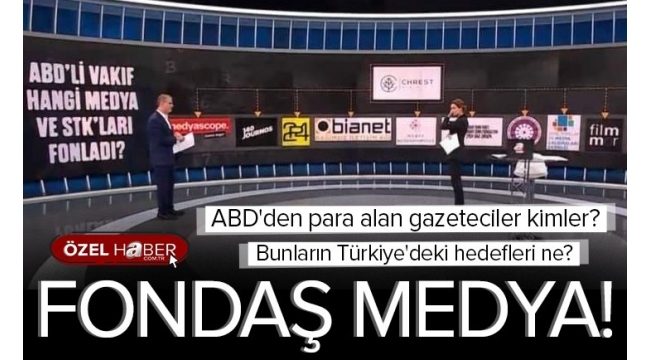 ABD'li vakıftan muhalif medyaya destek! Para alan gazeteciler kimler?