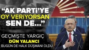 CHPlideriKemal Kılıçdaroğluhaddini aştı!