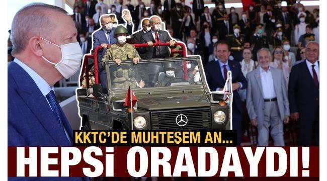 Son dakika: Başkan Erdoğan KKTC'den önemli mesajlar verdi!