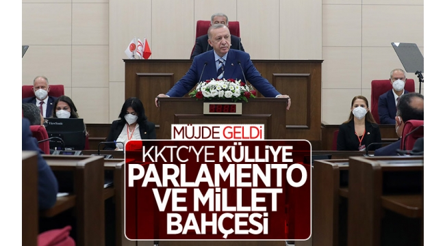 Son dakika haberi... KKTC'de tarihi gün! Cumhurbaşkanı Erdoğan 'müjde'yi açıkladı