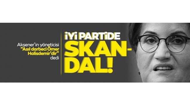Son dakika:İYİ Parti'de skandal! Akşener'in yöneticisinden şoke edenÖmer Halisdemirtweeti!