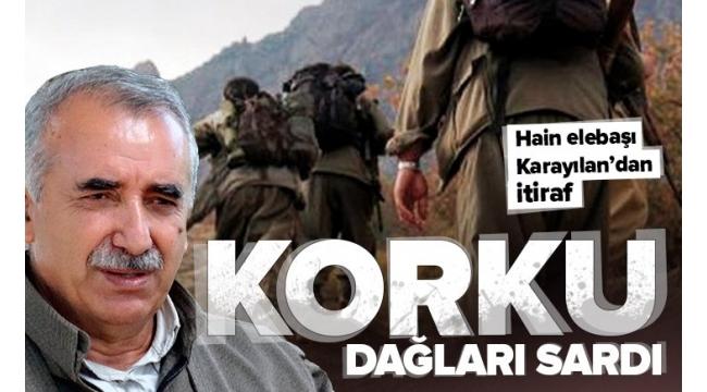 Terör örgütü PKK'nın elebaşıMurat Karayılan'dan Pençe harekatı itirafı: Bu bombardımanlar karşısında kimse duramaz