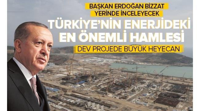 Başkan ErdoğanAkkuyu'da incelemede bulunacak!Akkuyu NGS'de sona doğru