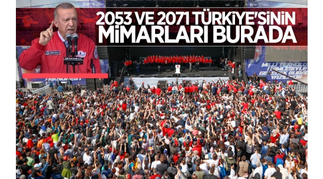 Başkan Erdoğan'danTEKNOFEST'te gençlere mesaj!