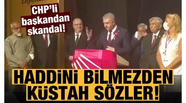 CHP Etimesgut İlçe Başkanı Cemal Emir'den Başkan Erdoğan ve AK Partililere haddi aşan ifadeler: Bunların kökünü kazıyacağız.