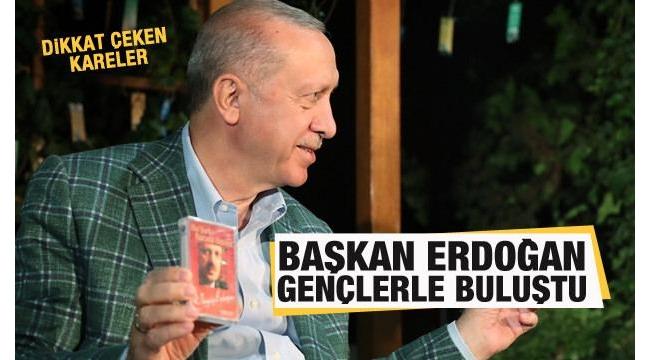 Başkan Erdoğan,Kahramanmaraş'ta gençlerle bir araya geldi: Davamızı yüreklere nakşetmenin en iyi yolu şiirdir