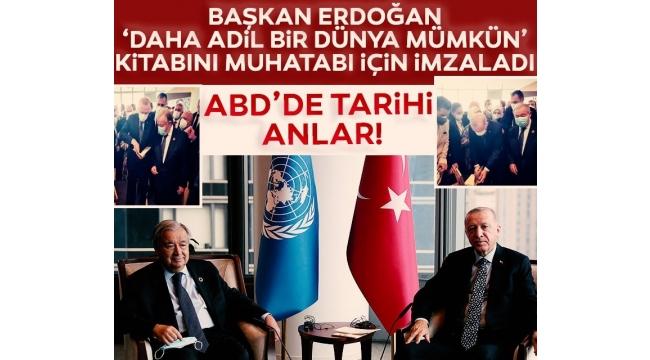 Son dakika: Başkan Erdoğan, YeniTürkevi Binası'nın açılış töreninde konuştu: Türkiye'nin artan gücünü yansıtan bir baş yapıt