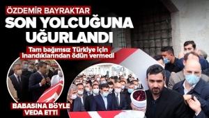 Özdemir Bayraktar son yolculuğuna uğurlandı! Sevenleri Fatih Camii'ne akın etti